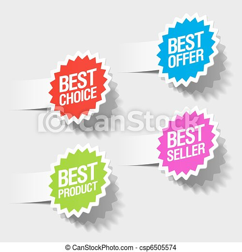 best choice, best offer tags - csp6505574