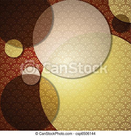 Elegant Art Deco Background - csp6506144