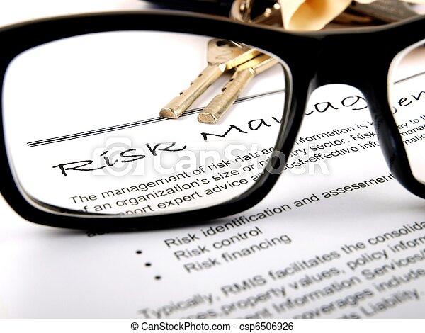 risk management - csp6506926