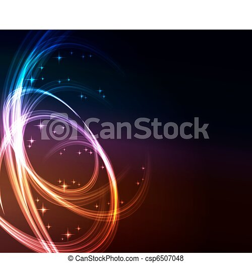 glowing abstract background - csp6507048