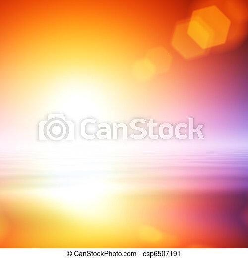 Leuchtsignal, Abstrakt, hintergrund - csp6507191