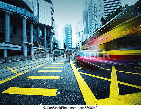 motion., スピード違反, バス, ぼんやりさせられた - csp6508249