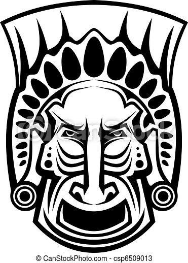 Religious mask - csp6509013