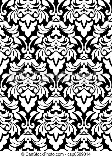 Damask seamless pattern - csp6509014