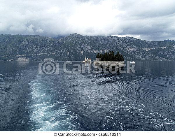 Kotor bay islands - csp6510314