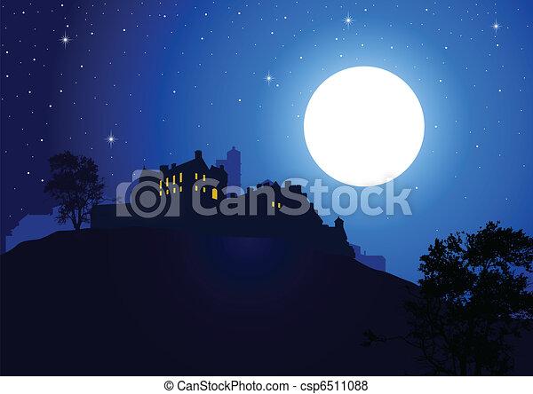 Full Moon - csp6511088