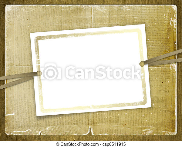 Framework for invitations. Abstract background. - csp6511915