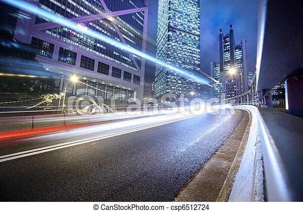 Urban, transport, bakgrund - csp6512724