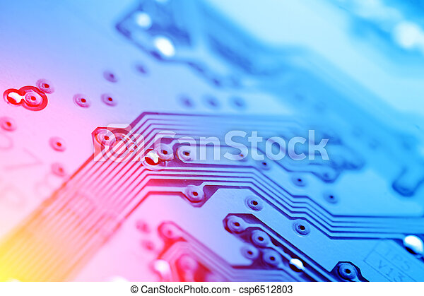 Circuit board abstract background - csp6512803