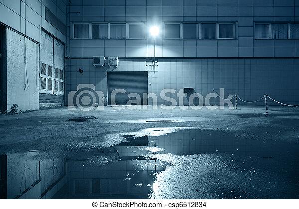 Industrial building detail - csp6512834