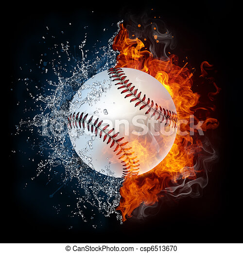 Baseball Ball - csp6513670