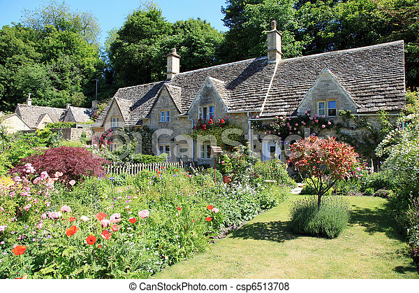 Typical home in the Cotswolds - csp6513708