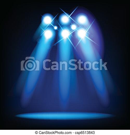 Vector Stage Lights - csp6513843