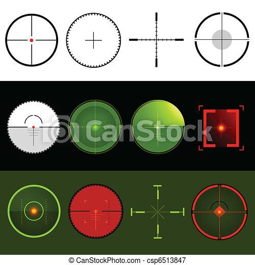 Vector Target Crosshairs - csp6513847