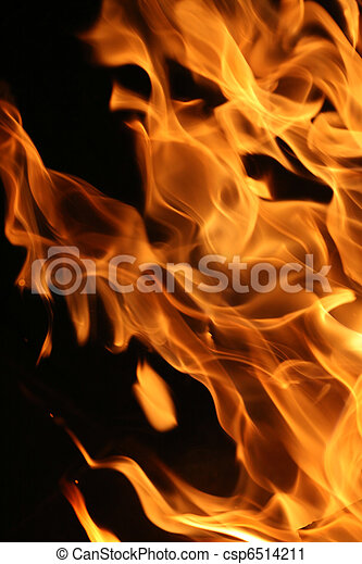 Blazing fire - csp6514211