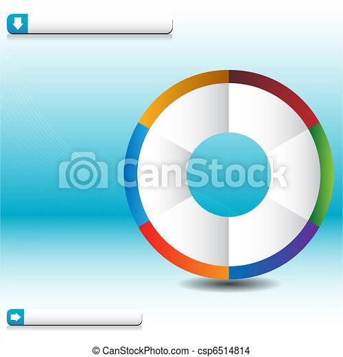 Process Wheel Wave Chart - csp6514814