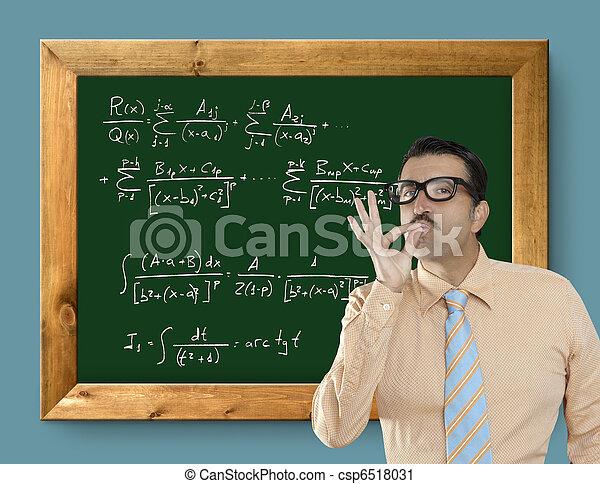 mathematical formula genius nerd geek easy resolve - csp6518031