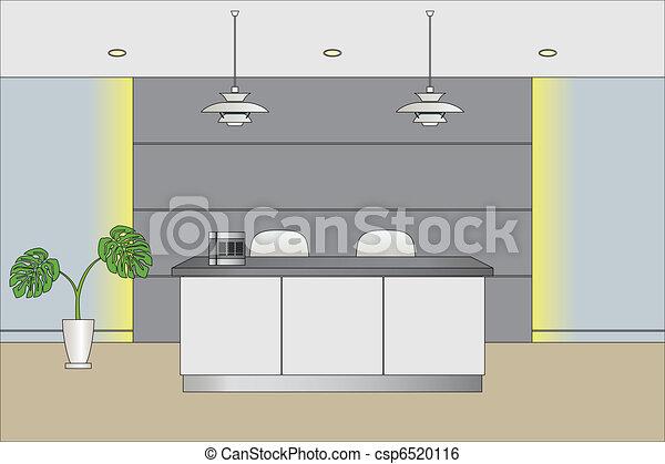 Reception Counter - csp6520116