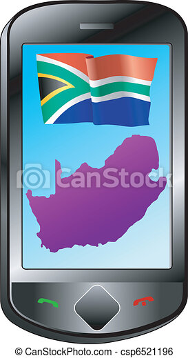 connection with South Africa - csp6521196
