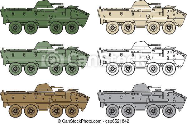 armored OT - 64 Scot - csp6521842