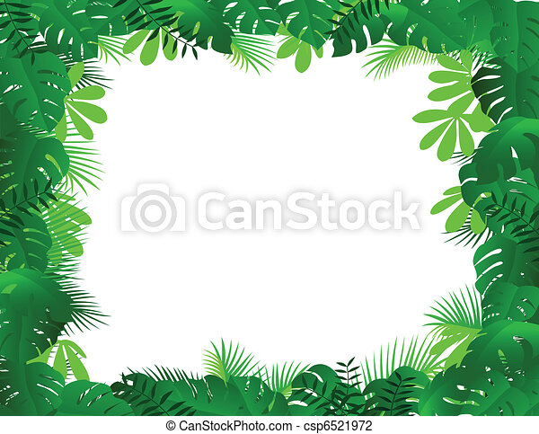 Forest frame - csp6521972