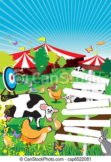 country fair - csp6522081
