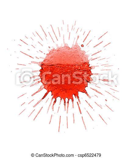 Ink Splatter - csp6522479