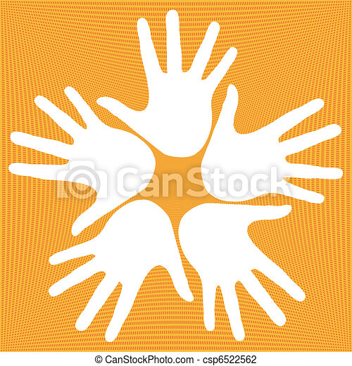 Loving hands design. - csp6522562