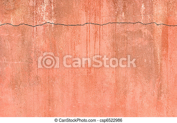 Old Fractured Wall - csp6522986