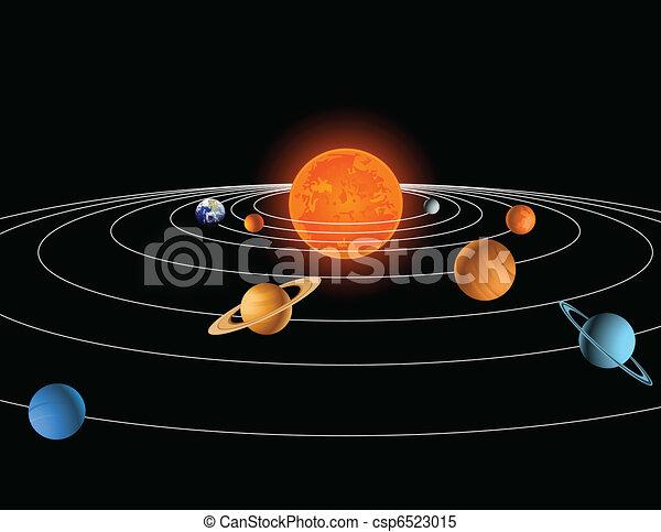 Solar system - csp6523015