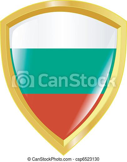 golden emblem of Bulgaria - csp6523130