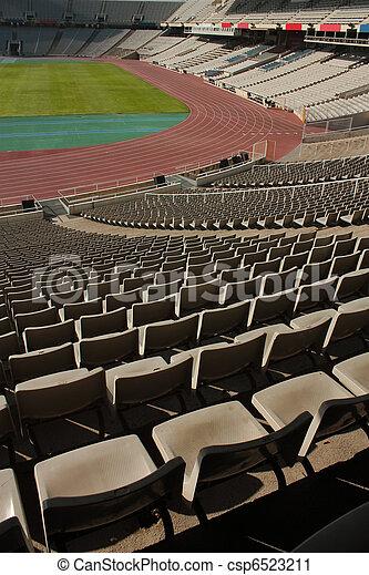 Montjuic Olympic stadium - csp6523211