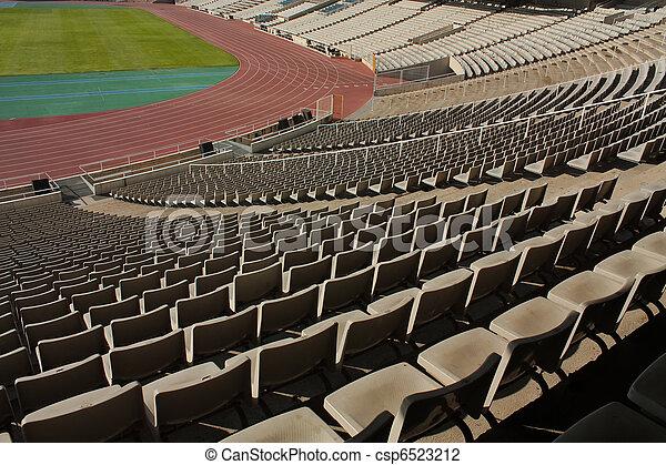 Montjuic Olympic stadium - csp6523212