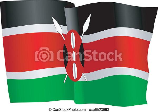 flag of Kenya - csp6523993