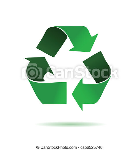 Green recycling  - csp6525748