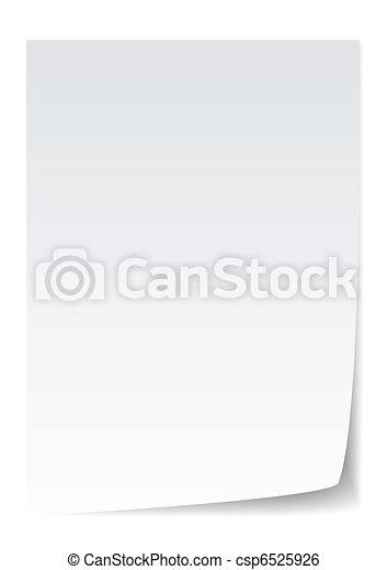 paper vector - csp6525926