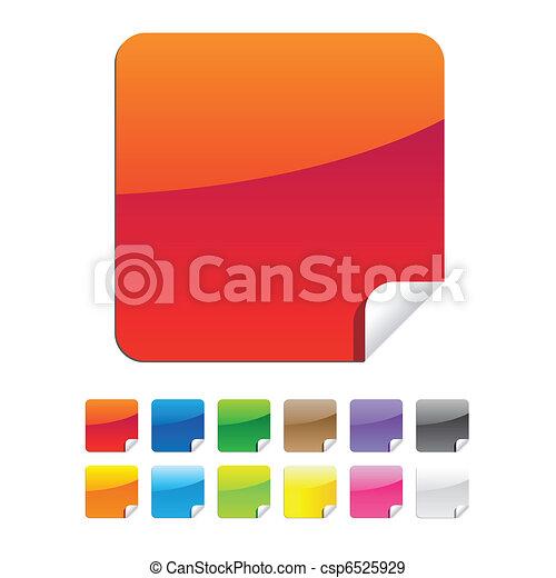 label sticker - csp6525929