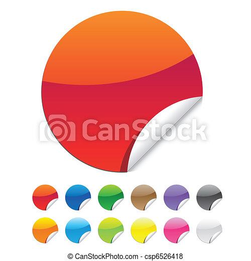 seal sticker - csp6526418