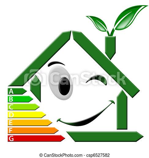 Clipart di energia certificazione verde casa for Disegni di casa