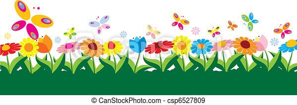 Spring vector illustration  - csp6527809