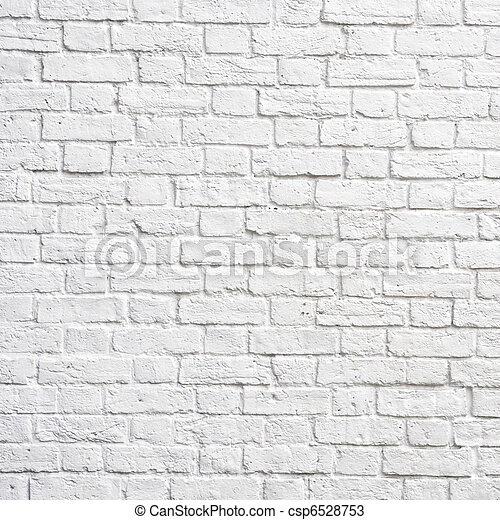 White brick wall - csp6528753