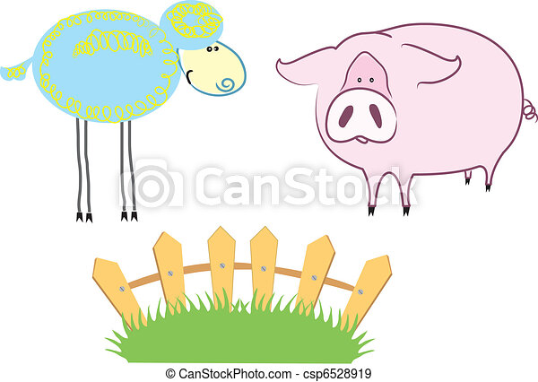 Farm Animals - csp6528919