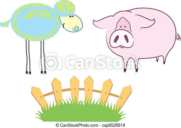 Farm Animals - csp6528919