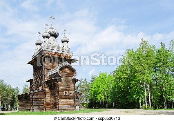 Wooden churches - csp6530713