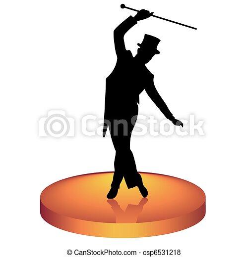 Tap dancer - csp6531218