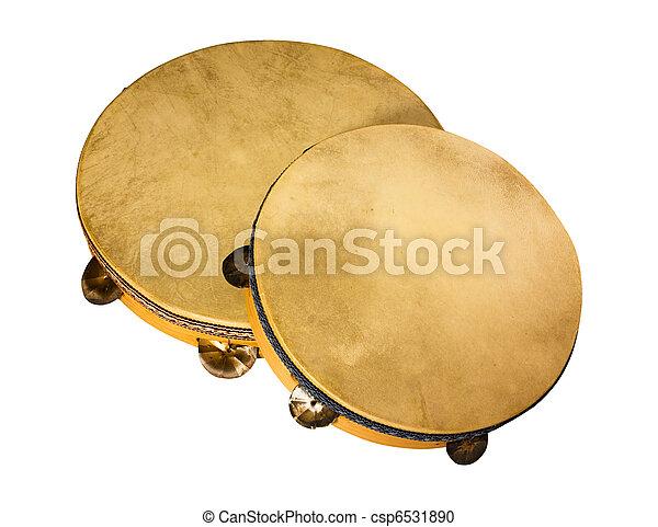 Italian tambourines - csp6531890