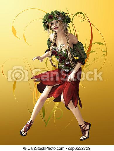 Summer Maid - csp6532729