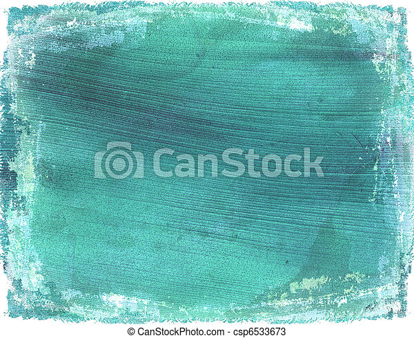 Washed light blue grunge coconut paper background - csp6533673