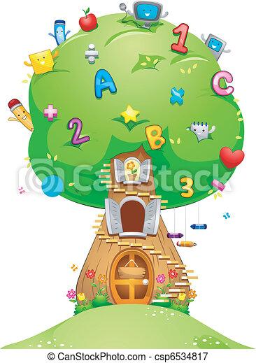 School Tree - csp6534817