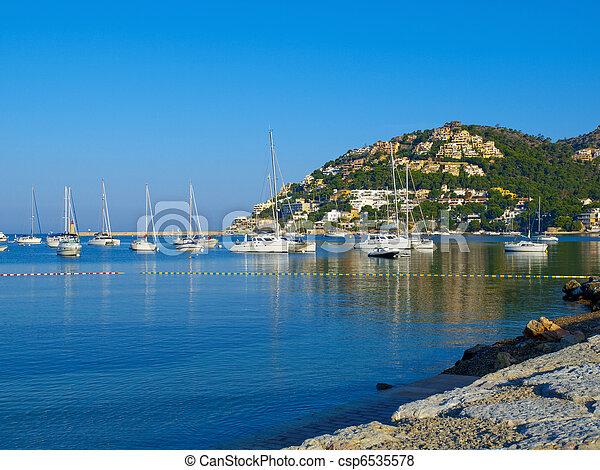 Puerto Andratx, Mallorca - csp6535578